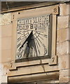 NT2540 : High Street sundial, Peebles by M J Richardson