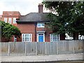 TQ2978 : Caretakers Cottage, Churchill Gardens Primary School Pimlico by PAUL FARMER
