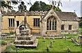 SP0107 : All Saints Church - North Cerney-Gloucestershire by Brian Chadwick