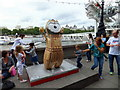 TQ3079 : Big Ben Wenlock at Southbank by PAUL FARMER