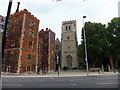 TQ3079 : Lambeth Palace and the deconsecrated parish church of St Mary-at-Lambeth by PAUL FARMER
