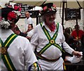 SU4997 : Morris Dancing at the King's Head and Bell by Colin Smith