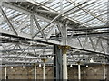 NT2573 : Waverley Station's new roof by M J Richardson