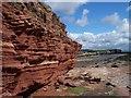 SJ1887 : Exposed rock on Hilbre Island : Week 35