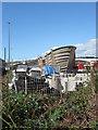 TQ4500 : Newhaven Boat Yard (1) by Simon Carey