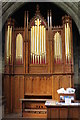 SK8329 : Organ, Ss Botolph & John the Baptist church, Croxton Kerrial by J.Hannan-Briggs