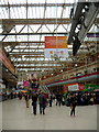 TQ3179 : Concourse, Waterloo Station, London SE1 by Christine Matthews
