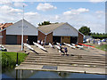 SK7853 : Newark Rowing Club  by Alan Murray-Rust