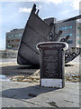 ST1974 : Merchant Seafarer's War Memorial, Cardiff Bay by David Dixon