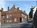 SK7953 : Millgate, corner of Mill Lane  by Alan Murray-Rust