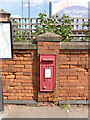 SK7954 : Castlegate Station postbox (ref. NG24 9)  by Alan Murray-Rust