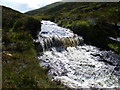 NN8487 : Water chute on Allt Lorgaidh above Glen Feshie, Aviemore by ian shiell