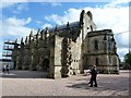 NT2763 : Rosslyn Chapel - threequarter view by Rob Farrow