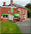 SO4138 : Londis and the village post office, Madley by John Grayson