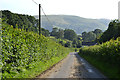 SH9004 : Road heading south from Pandy by Nigel Brown