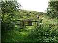 SE0223 : Footpath off Wine Tavern Lane, Sowerby by Humphrey Bolton