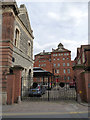 SK7953 : Castle Brewery, the courtyard  by Alan Murray-Rust