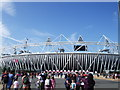 TQ3784 : Olympic Stadium by Paul Gillett