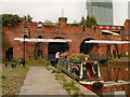 SJ8397 : Bridgewater Canal, Grocers' Warehouse by David Dixon
