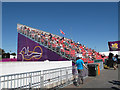TQ5764 : Brands Hatch paralympics - the stand by Stephen Craven