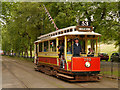 SD8303 : Heaton Park Tramway, Museum Stop by David Dixon