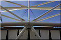 TQ3784 : Olympic Stadium: detail by Julian Osley