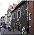 TR1457 : Pilgrims' Hospital by N Chadwick