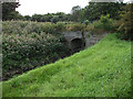 SJ8093 : Bridge over Chorlton Brook, Chorlton Ees by John Rostron