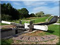 SO9163 : Lock 5, Droitwich Junction Canal by Christine Johnstone