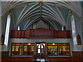 NO1491 : St Andrew's RC Church, Braemar, Interior by Alexander P Kapp