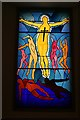 NJ4306 : Stained Glass Window by Anne Burgess
