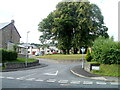 SO0627 : Limetree Close, Brecon by John Grayson
