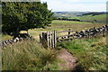 SK0272 : Gate on Burbage Edge by Bill Boaden