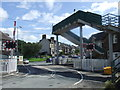 SD4666 : Hest Bank level crossing by Malc McDonald
