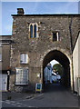 SD3778 : Cartmel Priory Gatehouse by Ian Taylor