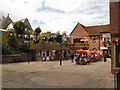 TQ1649 : Church Square, Dorking by David Dixon