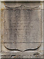 TQ1649 : War Memorial Inscription, St Martin's Churchyard by David Dixon