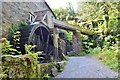 SX4168 : Cotehele Mill - Waterwheel by Ashley Dace