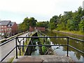 SJ9495 : Sluice gate on Peak Forest Canal by Gerald England