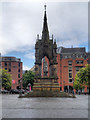 SJ8398 : Albert Memorial, Manchester by David Dixon