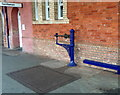 ST2225 : Old weighing scales at Taunton railway station by John Grayson