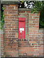 SK7851 : Hawton postbox (ref. NG24 44)  by Alan Murray-Rust