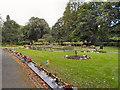 SJ7497 : Garden of Remembrance, Peel Green Cemetery and Crematorium by David Dixon