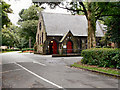 SJ7497 : The Crematorium Chapel, Peel Green by David Dixon
