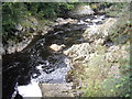 NO7095 : Looking downstream Water of Feugh by Stanley Howe