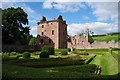 NO5869 : Edzell Castle by Alexander P Kapp