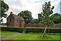 NO5869 : Edzell Castle, Summer house by Alexander P Kapp