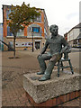 SS6592 : Dylan Thomas Statue by David Dixon