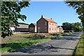 SE7627 : New house at Elmtree Farm near Howden : Week 38