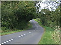 TL0360 : Twisty road towards Riseley by JThomas